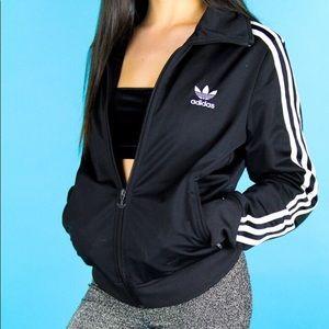 Adidas trefoil track jacket